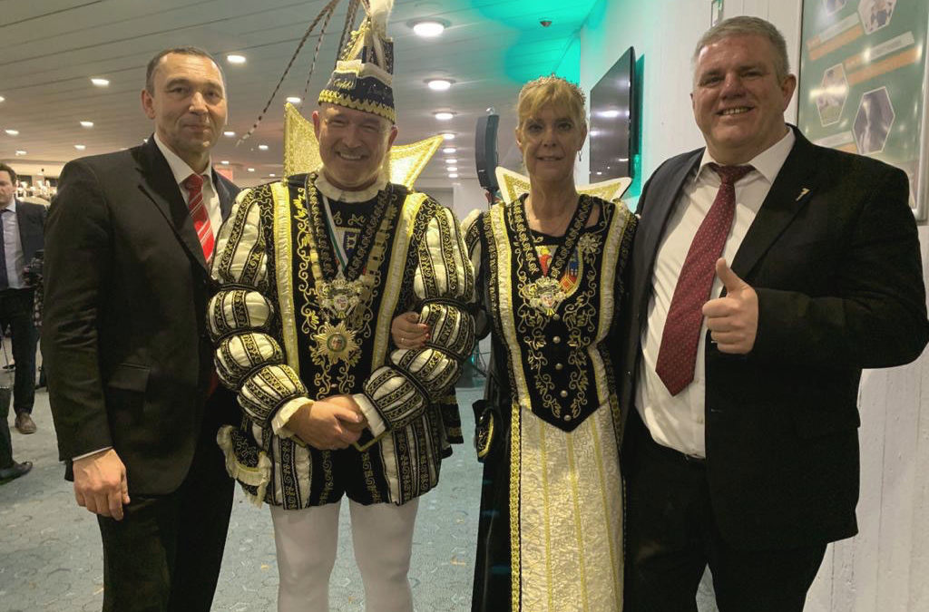 Karnevalsfeier im Kastanienhof