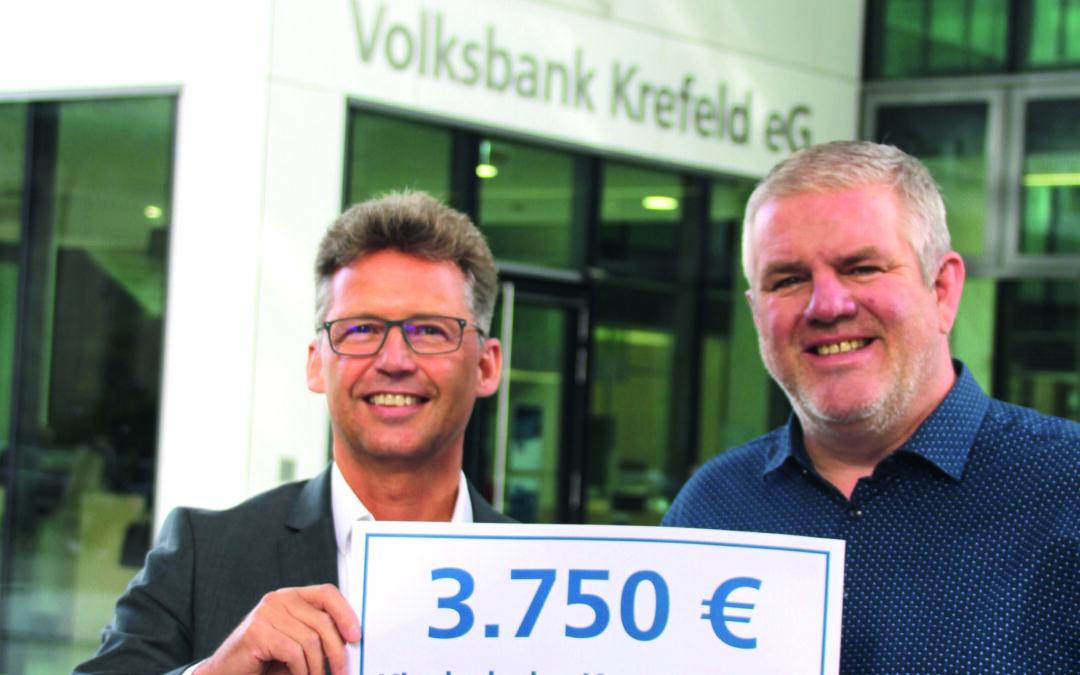 """Aktion """"Fit durch den Sommer"""" der Volksbank Krefeld eG"""
